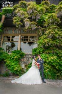 Tina & William Wedding Portrait