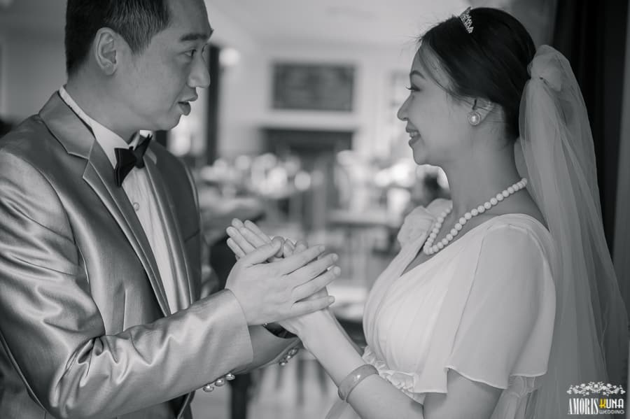 Love in tea house - Vivian & Tim Wedding